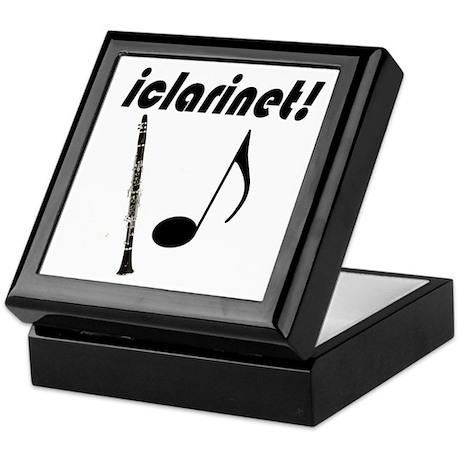 iclarinet! Keepsake Box