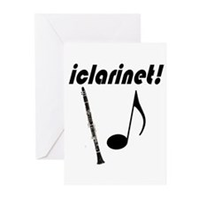 iclarinet! Greeting Cards (Pk of 10)