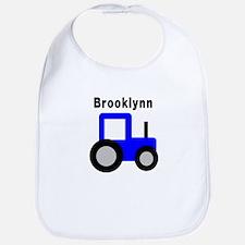 Brooklynn - Blue Tractor Bib