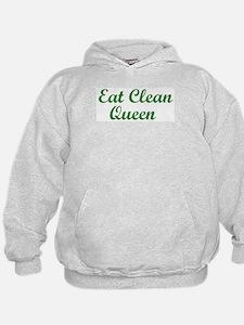 Eat Clean Queen Hoodie