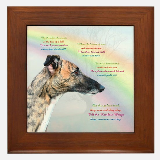 Rainbow Bridge Framed Tile