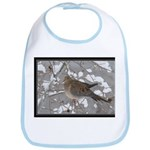 Winter Dove Bib