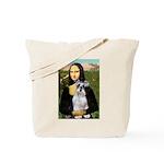 Mona Lisa/Schnauzer (#2) Tote Bag