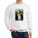 Mona Lisa/Schnauzer (#2) Sweatshirt