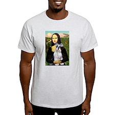 Mona Lisa/Schnauzer (#2) T-Shirt