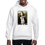 Mona Lisa/Schnauzer (#2) Hooded Sweatshirt