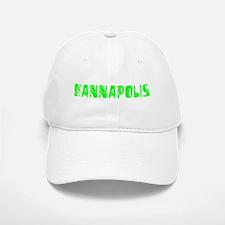 Kannapolis Faded (Green) Baseball Baseball Cap