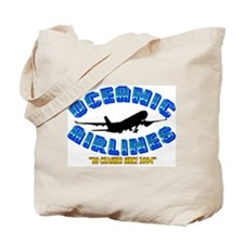 Oceanic Airlines: NO CRASHES SINCE 2004! Tote Bag