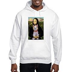 Mona Lisa / Min Schnauzer Hoodie