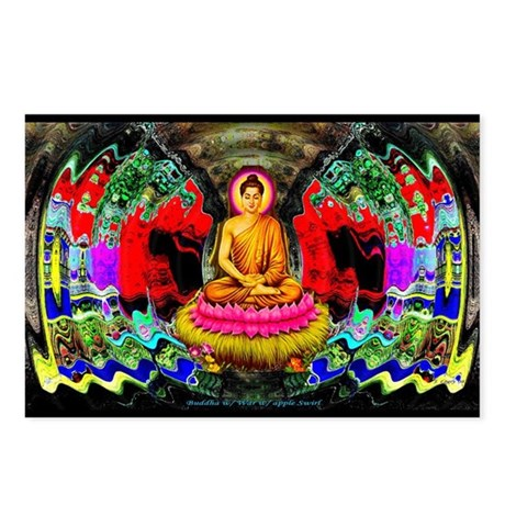 """Buddha Swirl"" - Postcards (Package of 8)"
