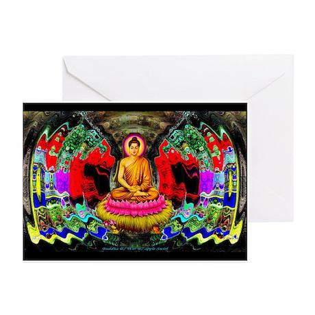 """Buddha Swirl"" - Greeting Cards (Pk of 10)"