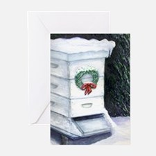 Merry Christmas Bee Hive Greeting Cards (Pk of 20)