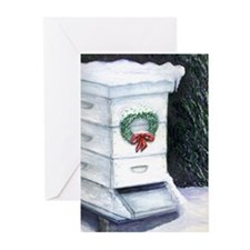 Merry Christmas Bee Hive Greeting Cards (Pk of 10)