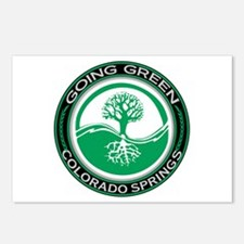 Going Green Colorado Springs Tree Postcards (Packa