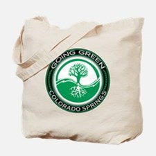 Going Green Colorado Springs Tree Tote Bag