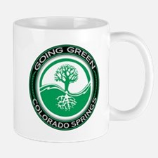 Going Green Colorado Springs Tree Mug