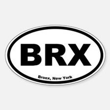 Bronx, New York Oval Decal