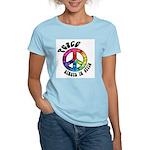 Peace Always in Style Women's Light T-Shirt