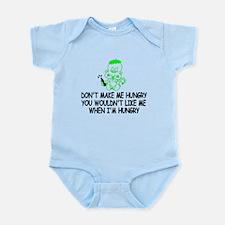 Don't make me hungry Infant Bodysuit
