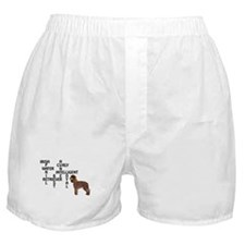 Irish water spaniel crossword Boxer Shorts