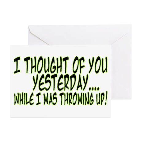 Thought Of You Greeting Cards (Pk of 10)