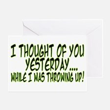 Thought Of You Greeting Card