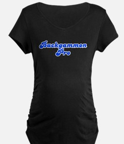 Retro Backgammon .. (Blue) T-Shirt