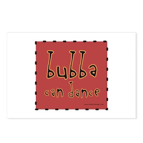 Bubba can Dance! Postcards (Package of 8)