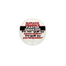 Obama Guilty Mini Button