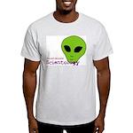Alien Scientology Ash Grey T-Shirt