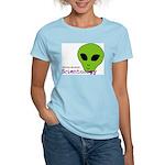 Alien Scientology Women's Pink T-Shirt