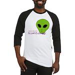 Alien Scientology Baseball Jersey