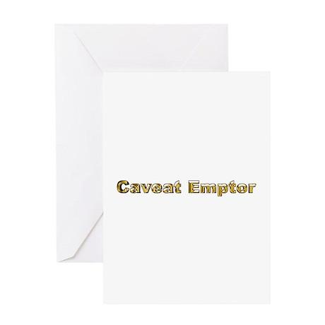 Greeting Card - Caveat Emptor