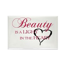 Beauty Rectangle Magnet