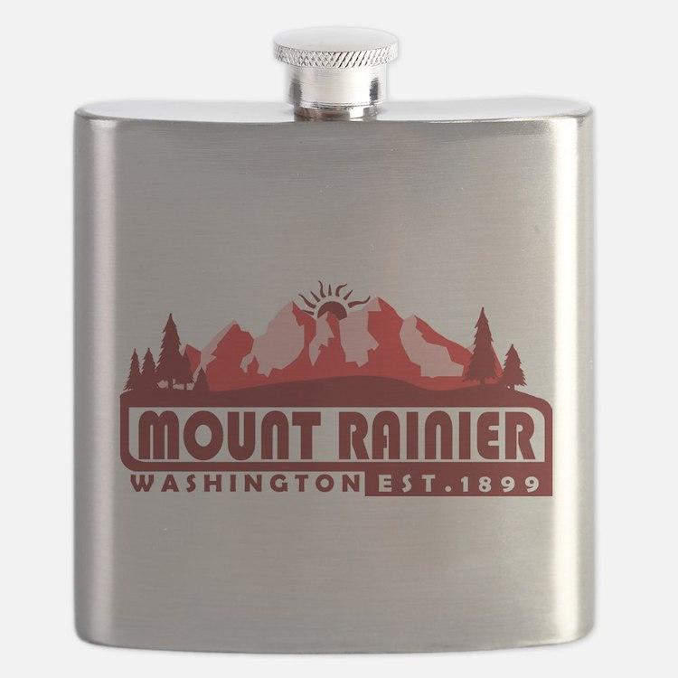 Mount Rainier - Washington Flask