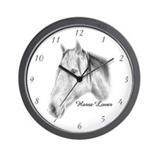 Horse Lover Wall Clock