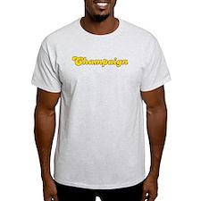 Retro Champaign (Gold) T-Shirt