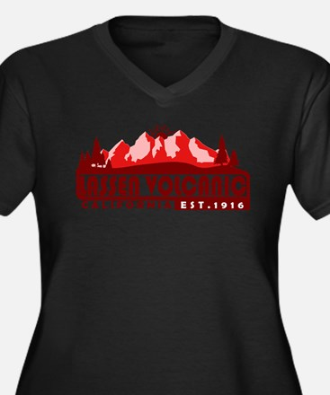 Lassen Volcanic - California Plus Size T-Shirt