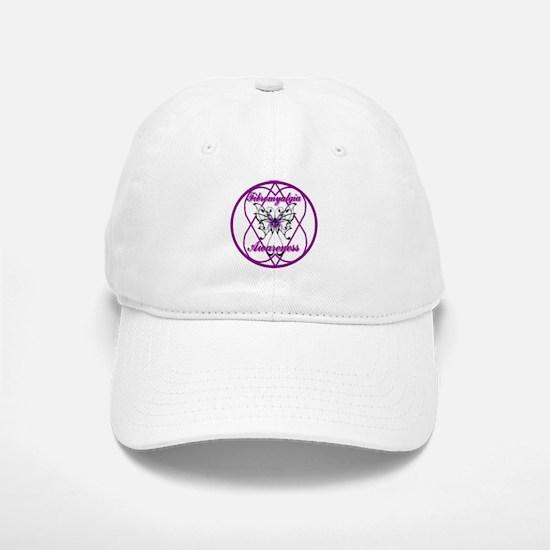 Purple Butterfly Hope-A-Gram Baseball Baseball Cap