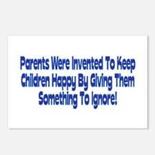 Parents Were Invented Postcards (Package of 8)