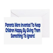 Parents Were Invented Greeting Card