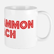 Retro Backgammon .. (Red) Mug