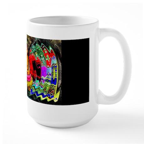 Buddha Swirl - Large Mug