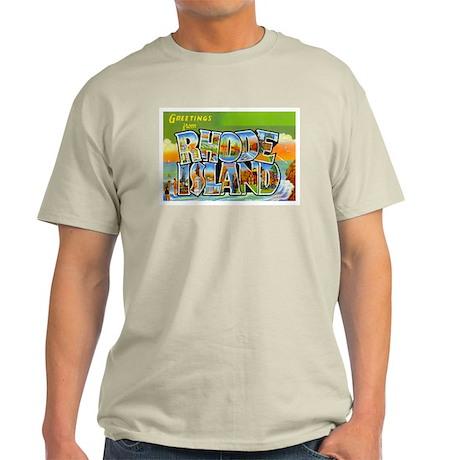 RHODE ISLAND RI Light T-Shirt