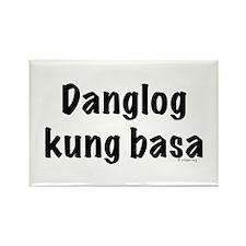 Danglog kung basa Rectangle Magnet (100 pack)