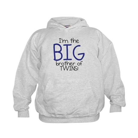 Big Brother (Twins) Kids Hoodie