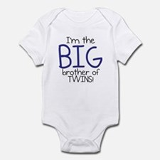 Big Brother (Twins) Infant Bodysuit