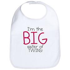 Big Sister (Twins) Bib