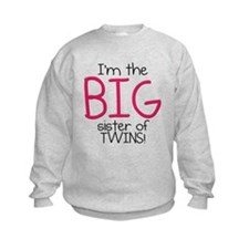 Big Sister (Twins) Sweatshirt