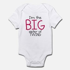 Big Sister (Twins) Infant Bodysuit